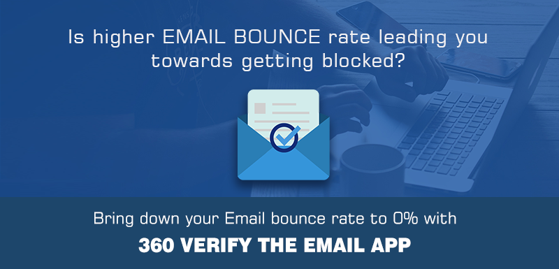 Is higher EMAIL BOUNCE rate leading you towards getting blocked???