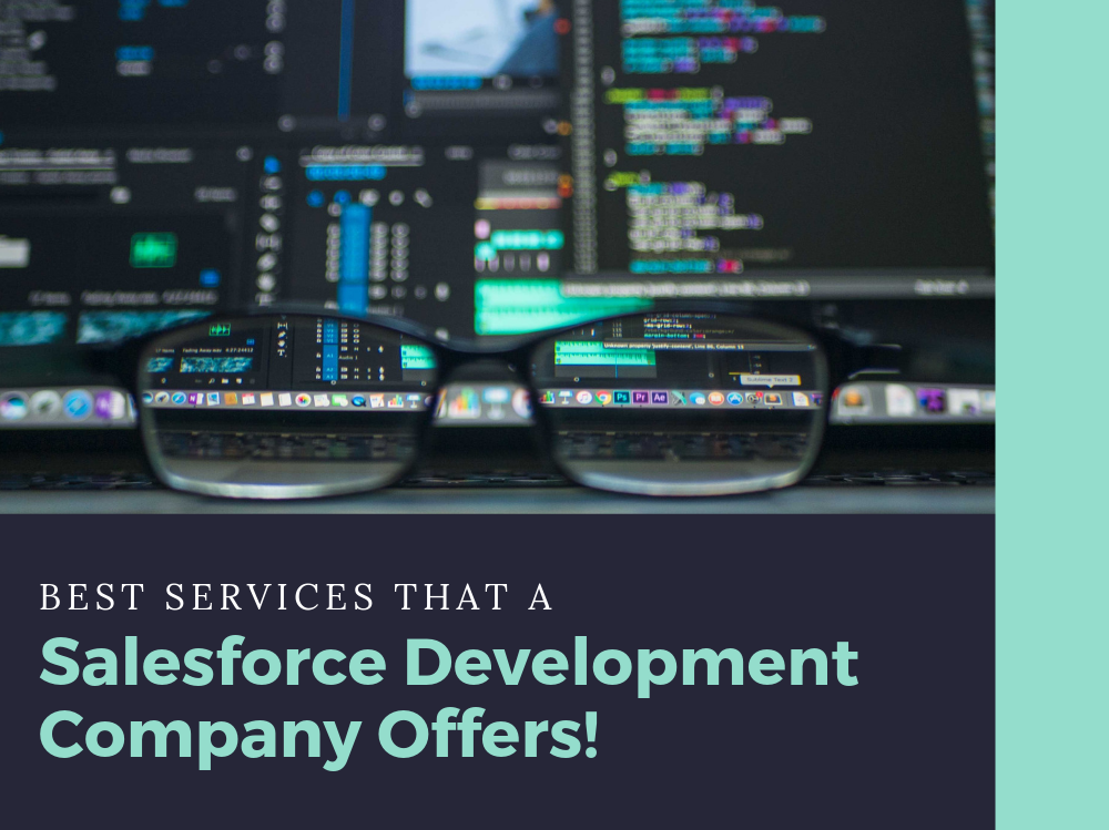 Best Services That a Salesforce Development Company Offers