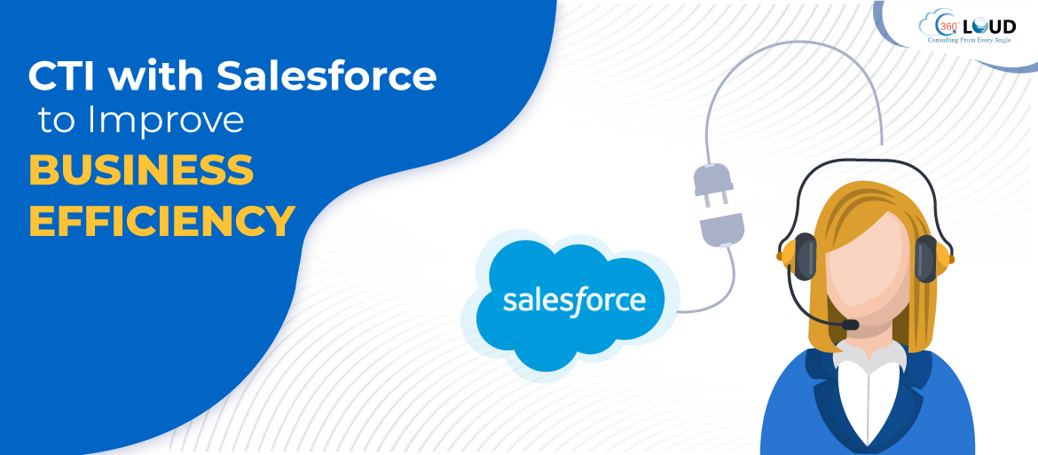 CTI with Salesforce to Improve Business Efficiency