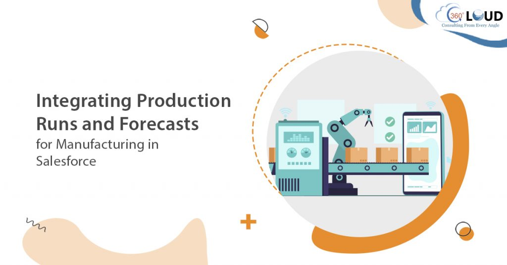 Integrating Production Runs and Forecasts